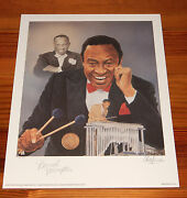 Lionel Hampton 16 X 20 Lithograph By Christopher Paluso - Signed And Numbered