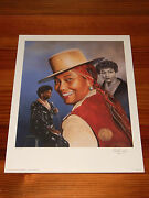 Pearl Bailey 16 X 20 Lithograph By Christopher Paluso - Signed And Numbered