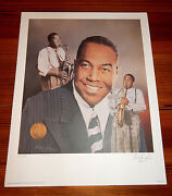 Charlie Parker 16 X 20 Lithograph By Christopher Paluso - Signed And Numbered