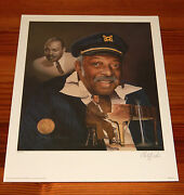 Count Basie 16 X 20 Lithograph By Christopher Paluso - Signed And Numbered