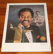 Billy Eckstine 16 X 20 Lithograph By Christopher Paluso - Signed And Numbered