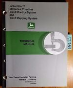 John Deere Greenstar 50 Series Combine Yield Monitor And Mapping Technical Manual