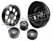 Powerbond 10 Overdrive Race Performance Power Pulley Kit Commodore Vz Ls1 Ls2