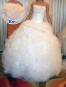Wedding Dress By Galit Couture For A Young Lady 5andrsquo7andrdquo Tall