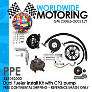 Dual Fueler Install Kit W/cp3 Pump Fits Gm 2004.5-2005 Lly Ppe 113062000