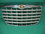 Oem 2005-2010 Chrysler 300 Grille Grill Silver And Chrome Trim 04806455aa W Emblem