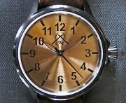Cole Watch Company Suburst Bronze Eta 6497 Central Second Limited Edition Of 10