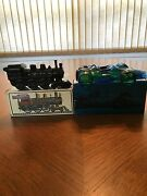 2 Avon Collectible Bottles -the Cannonball Express And A Racecar