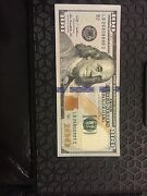 Us New 100 Bill With Serial Number Ending In 8888