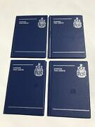 Lot Of 4 Canada Coin Collection Books 10 Cents Ten 140 Spaces Coins Collecting