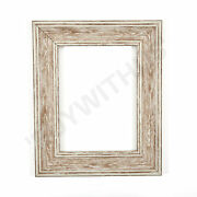 Shabby Chic Picture Frame Photo Frame Poster Frames Wall Decor Vintage Walnut