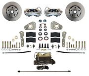 Ford Galaxie Front Disc Brake Conversion Kit - For Factory Power Brake Cars
