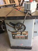 Delta 10 Uni- Saw Tilting Arbor Saw With Biesmeyer Fence Not Pictured.