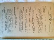 Rare 1951 Menu From F.a. Empsall Dept. Store And039tea Roomand039