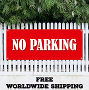 Banner Vinyl No Parking Advertising Sign Flag Many Sizes 24hr Access Required