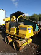 Rammax Rw2900 Double Drum Vibrating Sheep Foot Roller Euro 1954