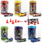 Multicolor Coke Can Mini Fast Speed Rc Racing Car Christmas Gift Toy Kid Present