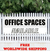 Office Spaces Available Advertising Vinyl Banner Flag Sign Real Estate Houses