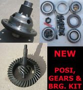 9 Ford Trac-lock Posi 31 - Gear - Bearing Kit Package - 4.56 Ratio - 9 Inch New