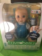 Luvabeau Boy Doll Blonde Hair Blue Eyes New In Box. Rare Hard To Find