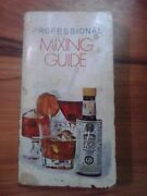 Mid Century Alcoholic Beverage Professional Mixing Guide Angostura Bitters