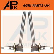 2x Front Axle Spindle Rh Lh For John Deere 2130 2140 2250 2450 2650 2850 Tractor