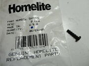 One Homelite 94065 Chainsaw Screw - Pan For 180, 192, 200, Little Red, Super 2