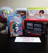 Hard To Find Pikmi Jumbo Pop Snes Spark Sink And Unicorn Fingerling