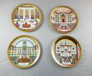 Set Of 4 Royal Doulton Celebration Of Jewish Faith In Boxes