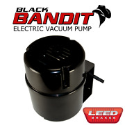 Brake Vacuum Pump For Power Brakes 12v Self Contained - Black Bandit