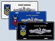Submarine Rank / Rating License Plate E-9 Master Chief Your Rank / Rate
