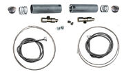 Glide Throttle-spark Spiral Kits W/ Cables For 1954 - 1970 Harley Pan And Shovel