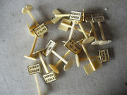 Lot Of O Scale Plastic Road Signs Rail Signs Look