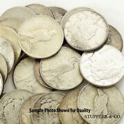 Lot Of 50 1922-1925 1 Peace Silver Dollars Vf-xf Very Fine Extra Fine Condition
