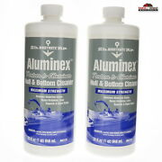 2 Boat Hull And Bottom Cleaner 32oz New