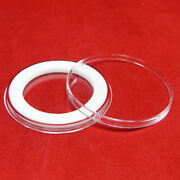 Airtite 34mm White Ring Coin Capsules For 20 St Gaudenand039s Or Liberty Gold Qty 10