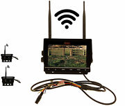 7 Dvr W/2 Digital Wireless Agriculture Or Commercial Cameras
