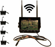 7 Dvr W/4 Digital Wireless Agriculture Or Commercial Cameras