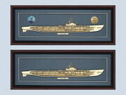 Personalized Gato Ss 212 Class Submarine Cutaway Museum Quality Wood Your Choice