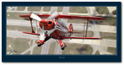 Pitts S-2b By Larry Mcmanus - Pitts Special - Aviation - Digital Art Print