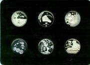 1961 - 1969 Silver History Of America In Space 21 Coins .999 Pure Silver