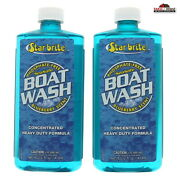 2 Concentrated Heavy Duty Boat Wash Cleaner 16oz New