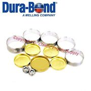 New Cam Bearings And Brass Freeze Plug Set Ford Y-block 239 256 272 292 312 F9a