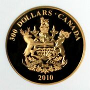 2010 Gold Canada 500 Minted 300 British Columbia Ngc Proof 69 Ultra Cameo
