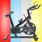 Stationary Exercise Bike Indoor Bicycle Cycling Fitness Gym Cardio Workout Home