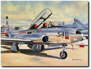 Star Of The Show By David Poole - Ct-133 Silver Star - Aviation Art Print