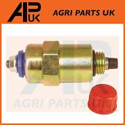 Fuel Shut Off Solenoid Valve For Ford 5110 5610 5640 6610 6640 6710 6810 Tractor