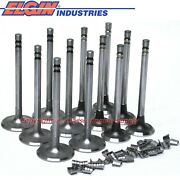New 1.72 Intake And 1.5 Exhaust Valve Set Chevy 194 215 230 250 292 6 Cylinder