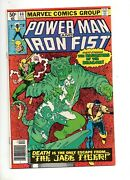 Power Man And Iron Fist 66 Nm 9.4 Gorgeous 2nd App Sabretooth 1980 Marvel Bronze
