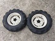 Montgomery Wards Gilson 16 Rear Rims Wheels And Tires 23x10.5-10